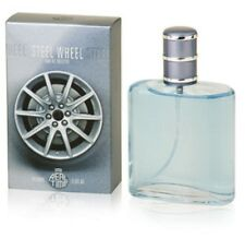 Perfume STEEL-WHEEL For MEN 3.3 oz Eau de Parfum by Real Time