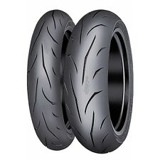 Motorcycle Tyres Mitas Sportforce Plus 120/70/ZR17 & 190/50/ZR17 Pair Motorbike