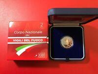 2020 ITALIA 2 EURO CORPO NAZIONALE DI VIGILI DEL FUOCO fire fighters ITALY PROOF