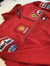 Ferrari Marlboro F1 Tommy Hilfiger sweatshirt Pit Crew Team Issue Schumacher