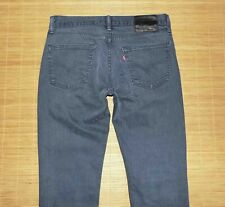 jean LEVI'S 511 slim gris taille 33/32 us ou 42 fr made Mexico