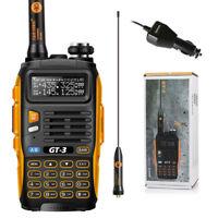 Baofeng GT-3 MarkII VHF/UHF 136-174/400-520MHz Ham Two-way Radio Walkie Talkie
