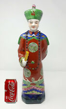 """New listing Antique 1850S Chinese Qing Dynasty Porcelain Wise Man 18"""""""