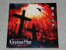 W.A.S.P. - Golgotha LP Vinyl Record 2015 Napalm Records Brand New