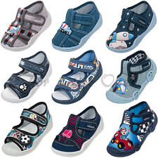 Boys canvas shoes slippers casual trainers sandals baby toddler 4 5 6 7 8 9 11UK