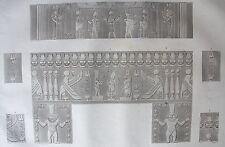 DENDERAIL. (TENTYRIS). (pl. 33, A. vol. IV). Decoration de  ..DESCRIPTION EGYPTE