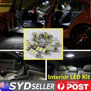 Car Interior LED Light Kit Upgrade Bulbs Pack For Subaru Liberty 2000-2009 White