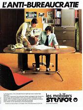 Publicité Advertising 107  1979  les mobiliers bureau  Strafor