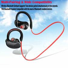 In-Ear Hook Headphone Wireless Bluetooth Handfree Sport Earphone Headset Earbuds