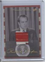 2018 The Bar Pieces Of The Past Richard Nixon Pennant Relic PNRH-RN President