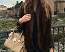 ZARA STOLA SCHAL WEICH KUNSTFELL LARGE SOFT FURRY FAUX FUR STOLLE COLLAR SCARF