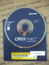 Microsoft Office MAC 2011 Home and Business Licensed for 2 MACs =NEW RETAIL DVD=
