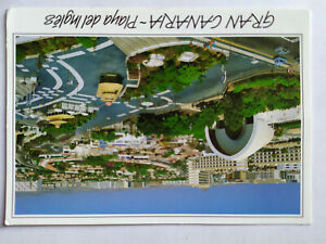 Gran Canaria - Playa del Ingles Spain Picture Postcard Postmarked 1996