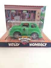 1998 CHEVRON CARS KELLY KOMPACT GREEN TOY CAR COLLECTIBLE NEW ORIGINAL PACKAGE