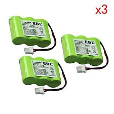 3Pack 2/3AA NIMH Battery for Vtech BT-17333 BT-27333 CS2111 CS51213 BT17233