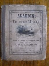 ALADDIN OR THE WONDERFUL LAMP 1846 First Edition illustrated by F.O.C. Darley