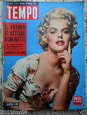 #tempo 1957 cover barbara lang #italian magazine#