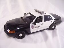 1/18 SCALE OKLAHOMA CITY POLICE INTERCEPTOR,  (FORD CROWN VICTORIA)