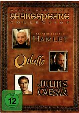 Shakespeare Collection (4 DVDs) Hamlet - Othello- Julius Caesar Film - gebraucht