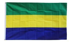 Gabon Flag 3 x 5 ' Flag - New 3X5 Indoor Outdoor Country Flag -lower price