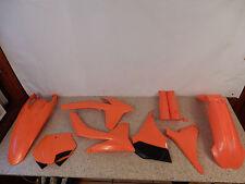 2011 & 2012 KTM 125SX - 450SX Plastic Kit Front Fender Rear Fender Number Plates
