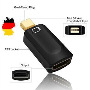 ⭐ HDMI Buchse zu Mini DP DisplayPort Stecker für MacBook iMac Thinkpad Laptop ⭐