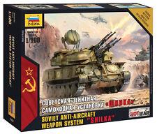 "Zvezda 1/100 Soviet Anti Aircraft Weapon System ""SHILKA"" # 7419"