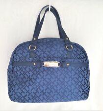TOMMY HILFIGER Handbag Navy Blue DM SATCHEL Retails $85