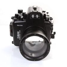 MeiKon 60m Underwater Waterproof Housing Dving Case for Nikon D800 105mm F2.8