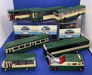 7 X Code 3 Single Decker Model Bus Joblot Ideal Repaint Coach, Wrecker
