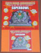 Fairground 1/50th Scale Superbowl Ride Model Card Kit on PDF Disc + A4 Card