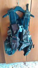 Combat Jacket gilet tattico woodland camouflage