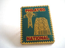 PINS RARE PHILAT'EG PHILATELISTE CARTOPHILE COLLECTIONNEUR INDUSTRIE