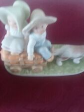 1993 Home Interiors Homco Masterpiece Circle Of Friends Figurine Fall's Bounty