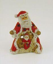 Windlicht Weihnachtsmann  Deco  Keramik Höhe ca.14 cm