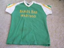 Vintage 1970's-80's Annie's Bar Marengo Wi #12 Softball Jersey Wisconsin Wis