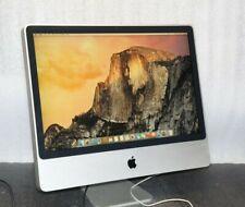 "Apple iMac 24"" A1115 (2007) Intel Core 2 Duo 2.4GHz, 2GB, 500GB SATA"