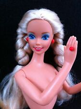 Dutch Blonde Tnt Nude Barbie Doll Braid European Dotw Blue Eye For Ooak Repaint