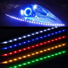 Moto styling 4pcs  Pruple 15SMD LED Waterproof Flexible Strip Light For KTM