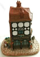 Lilliput Lane The Coach & Horses L2112 complete with Deeds