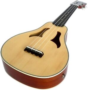 REPAIR PROJECT CLEARWATER GLOSS SOPRANO UKULELE VITA ELECTRO ACOUSTIC SOLID TOP