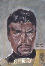 2016 Rittenhouse Star Trek 50th Anniversary 1/1 Sketch Kang the Klingon
