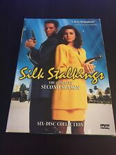 Silk Stalkings -The Second Season (DVD, 2005) Missing Disc 1 &2 Incomplete