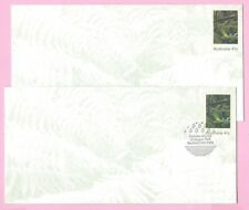AUSTRALIA 1989 Pair of PSE's - FDC & Mint - St. CLAIR NATIONAL PARK - Sheffield