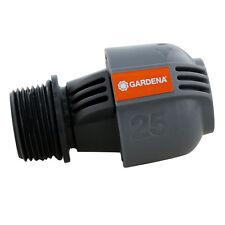 """GARDENA Verbinder 25mm 1 """" Zoll Außengewinde Verbindung Sprinkler Zubehör"""