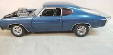 ACME/GUYCAST  1:18 1970 CHEVROLET CHEVELLE SS 454 DRAG OUTLAWS BLUE - 222 MADE!!
