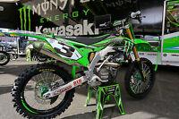 NEW Factory Kawasaki Eli Tomac Replica Graphics Kit KXF250 KX250F 2018 2019