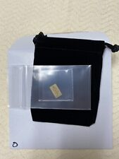"""The Chive 1/100th Ounce Solid Gold Bar - Letter """"O"""" .9999 KCCO"""