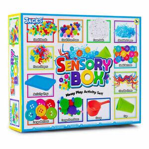 Sensory Box - Messy Play Accessory Set - Art And Craft Box Supplies ADHD Autism