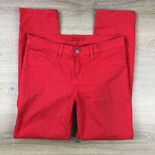 J Brand Women's Jean Brt Red Skinny Leg Size 28 W30 L27 Cut#8240A (MM11)